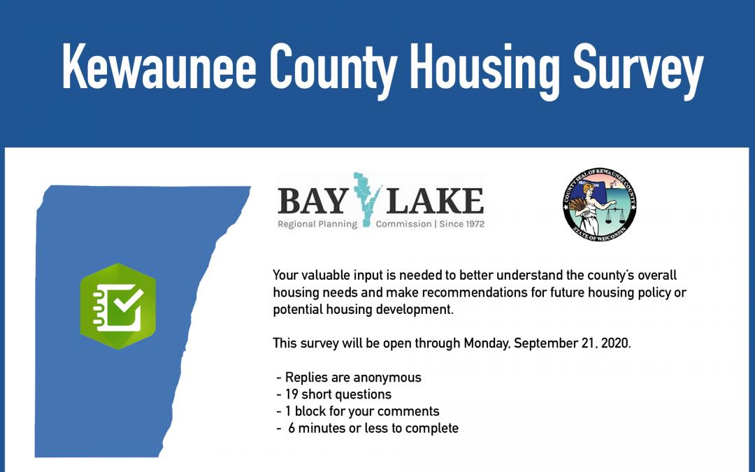 Kewaunee County Housing Survey