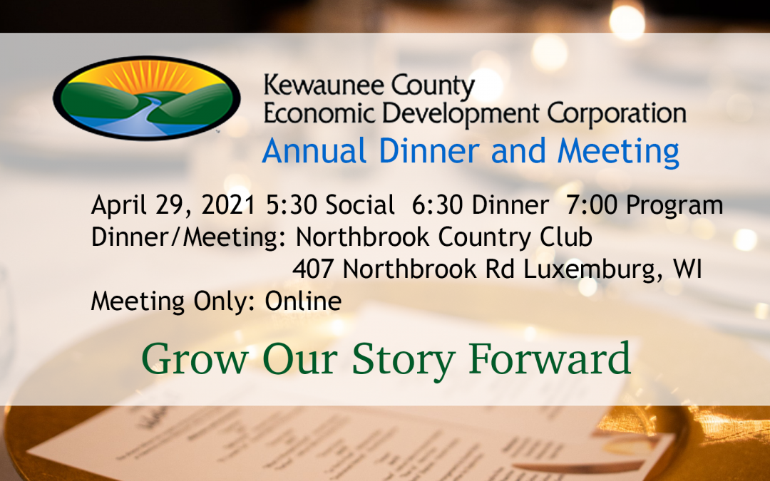 2021 Kewaunee County Economic Development Corporation Annual Dinner and Meeting
