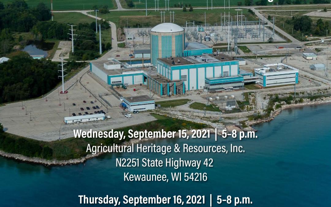 EnergySolutions Announces Kewaunee Nuclear Plant Decommissioning Job Fair